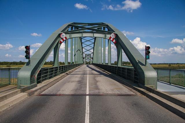 Bridge, Bascule Bridge, Steel Structure, Eider