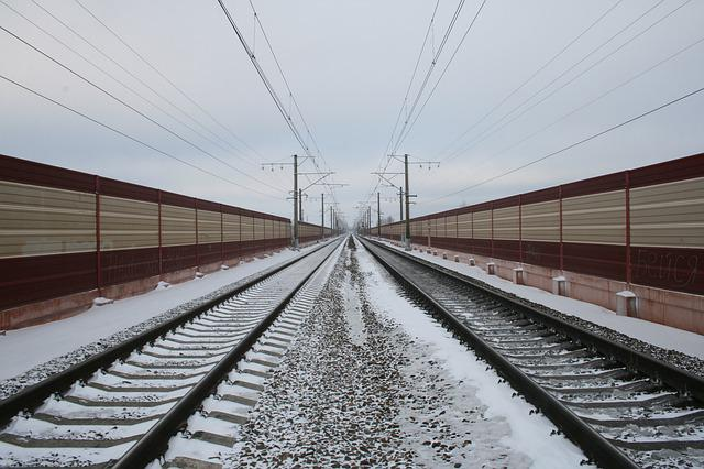 The Transportation System, Steel, Train, Railway Track