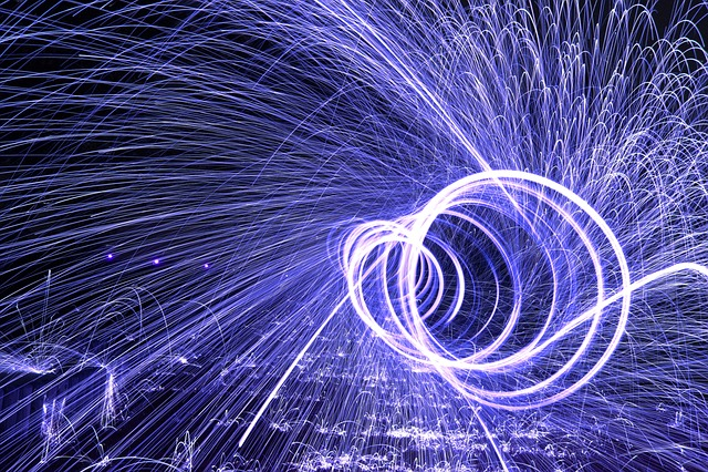 Steel Wool, Sparks, Creative Use Of Light