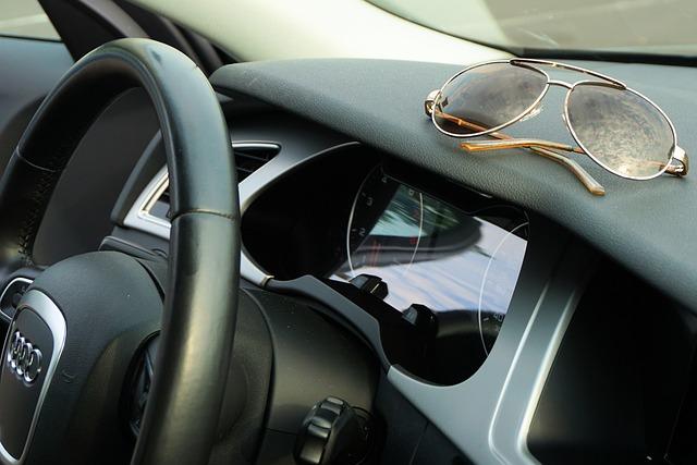 Sunglasses, Audi, Steering Wheel, Fashionable, Leisure