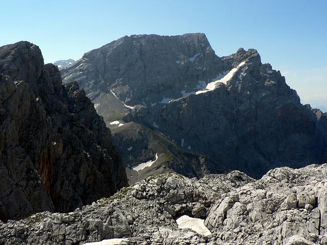 Austria, Mountains, Steinernes Meer, Rocks