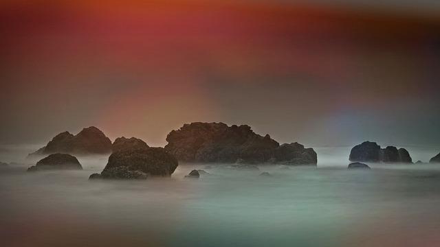 Sea, Rock, Coast, Steinig, Booked, Water, Nature