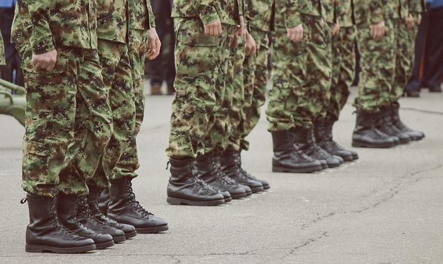 Military, Steps, Security, Protection, Foot, Guard