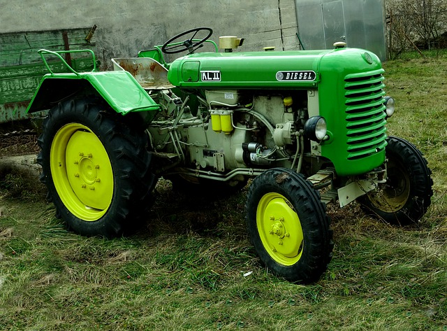 Machine, Steyrer - Tractor, Oldtimer, Motor