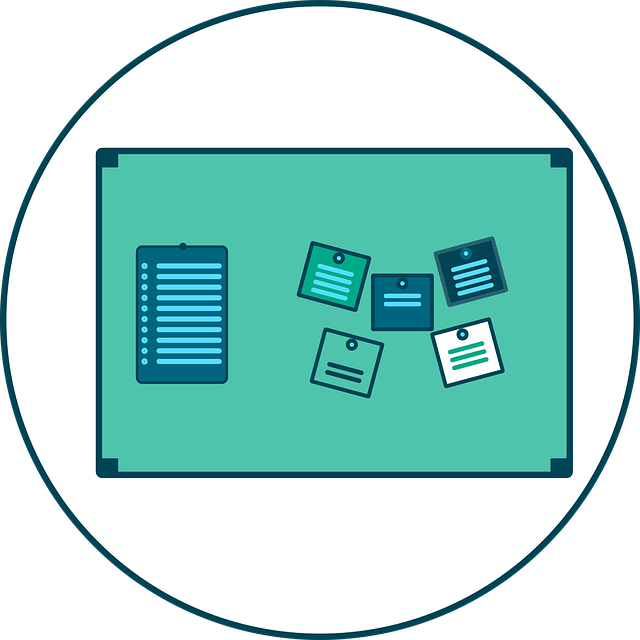 Sticky Notes, Table, Display, Clipboard, Listing