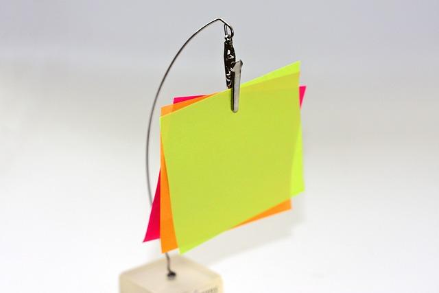 Sticky Notes, Post It, Blank, Reminder, Sticker