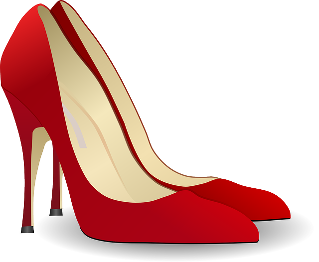 Pumps, High Heeled Shoe, Stack-heel Shoe, Stilettos