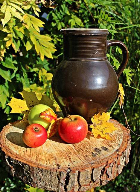 Apple, Autumn, Still Life, Beer Stein, Fruit