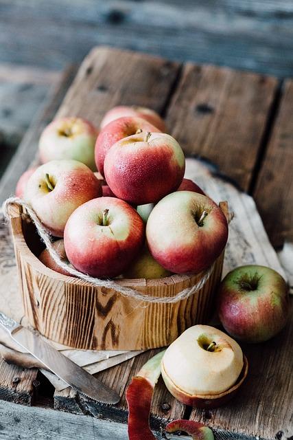 Apples, Still Life, Rustic, Fruit, Fresh, Natural, Eco