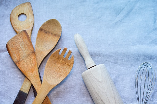 Wood, Still Life, Flatware, Food, Spoon, Cooking