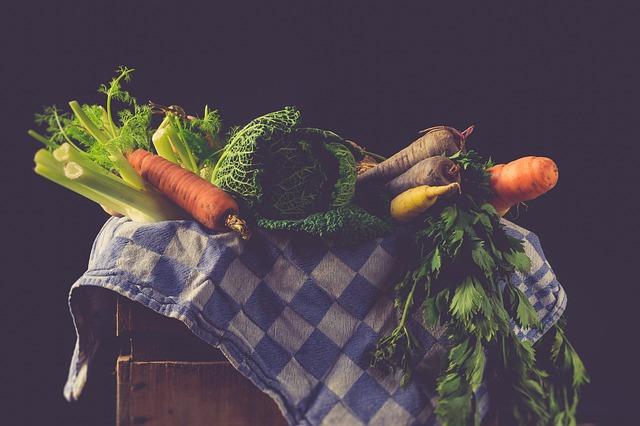 Vegetables, Ingredients, Fresh, Raw, Mockup, Still Life