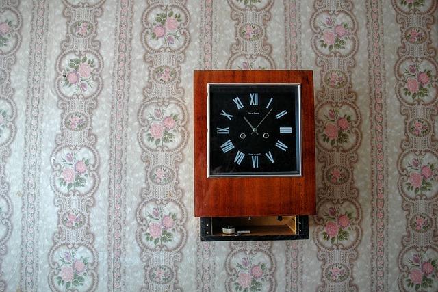 Still Life, Clock, Retro, Wallpaper, 70th, Antique