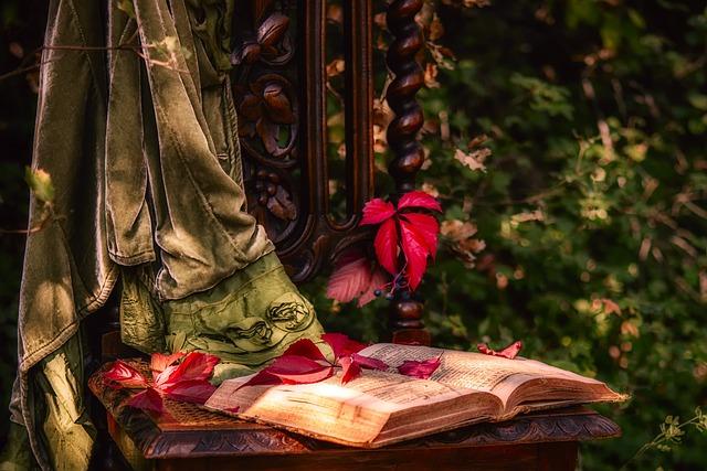 Still Lifes, Book, Chair, Vine Leaves