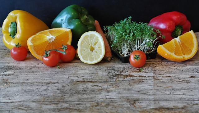 Paprika, Salad, Orange, Still Tomatoes Life, Celery