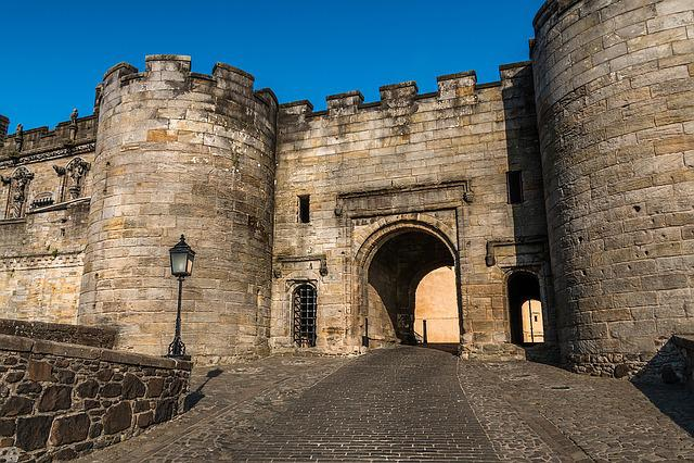 Stirling, Stirling Castle, Stirlingský Castle, Scotland