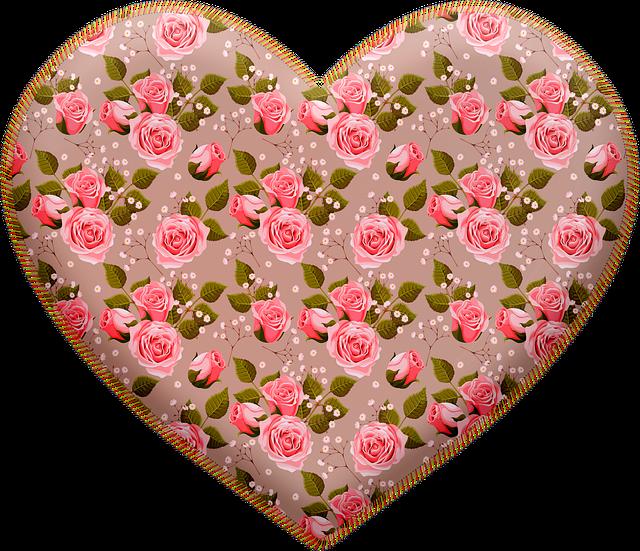 Puffy Heart, Heart, Valentine, Stitched Heart, Paris