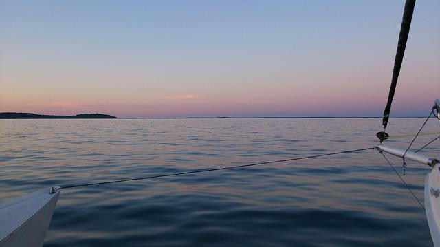 Archipelago, Stockholm, Sunset