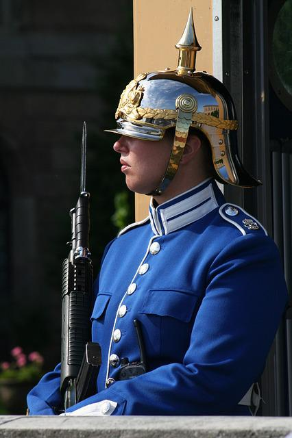Sentry, Guard, Stockholm, Sweden
