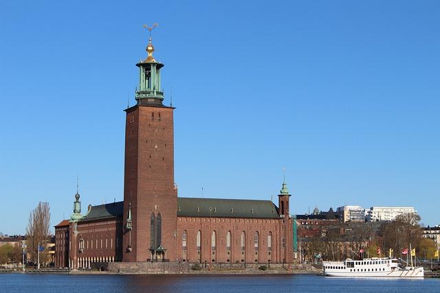 Town Hall, Stockholm, Building, Sweden