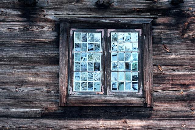 Window, Antique, Folk, Stockholm, Sweden, Scandinavia