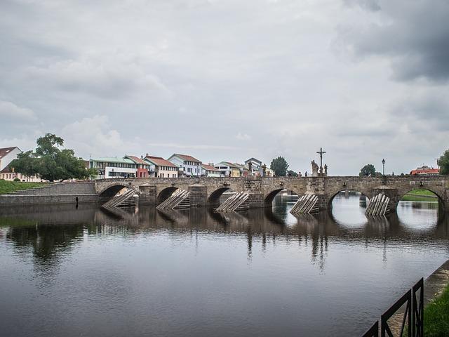 Stone Bridge, Sand, Bridge, River, History