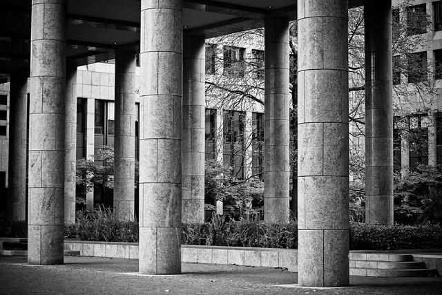 Columnar, Stone, Building, Architecture, Stone Column