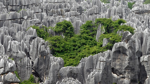 China, Kunming, Stone Forest, Stones