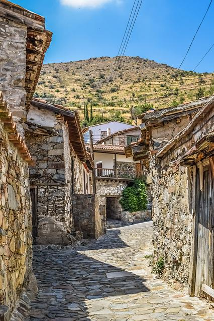 Street, Old Houses, Stone, Architecture, Aged, Grunge