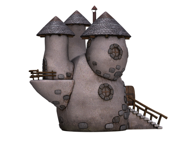 House, Towers, Tower, Stone House, Fantasy, Fairy Tales