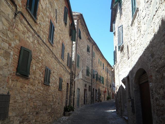 Village, Bergdorf, Mediterranean, Stone Houses, Italy