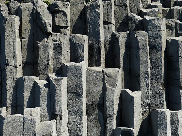 Iceland, Vik, South Coast, Mountain, Rock, Stone
