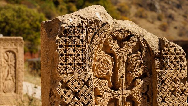 Cross-stone, Carving, Stone, Khachkar, Monastery