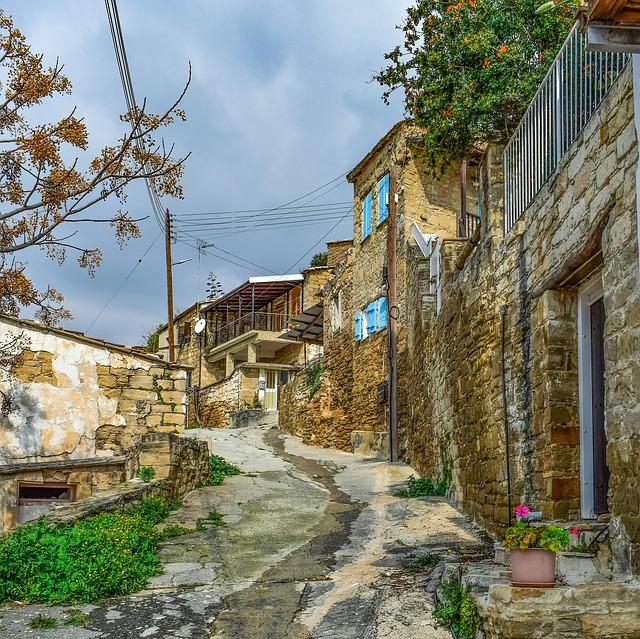 Backstreet, Architecture, Houses, Old, Travel, Stone