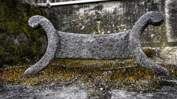 Nature, Stone, Iron, Old