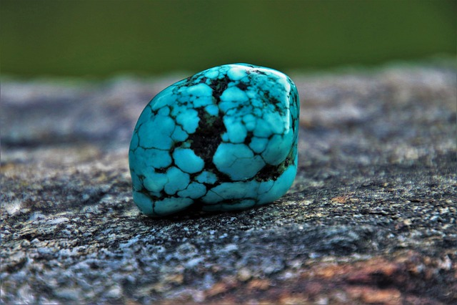 Turquoise, Rock, Blue, Nature, Stone, Geology, Pebble