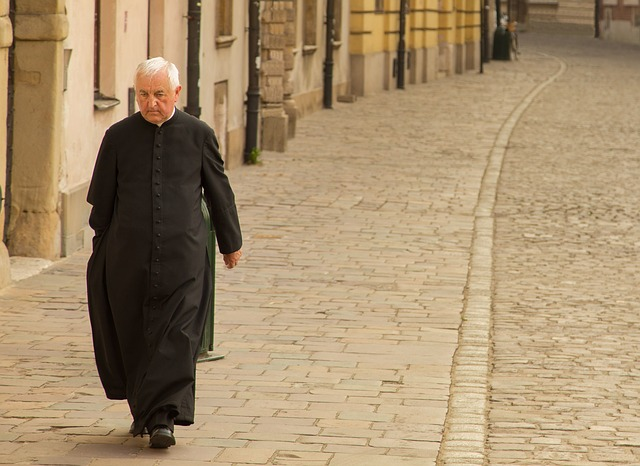Priest, Europe, Medieval, Stone, Christian