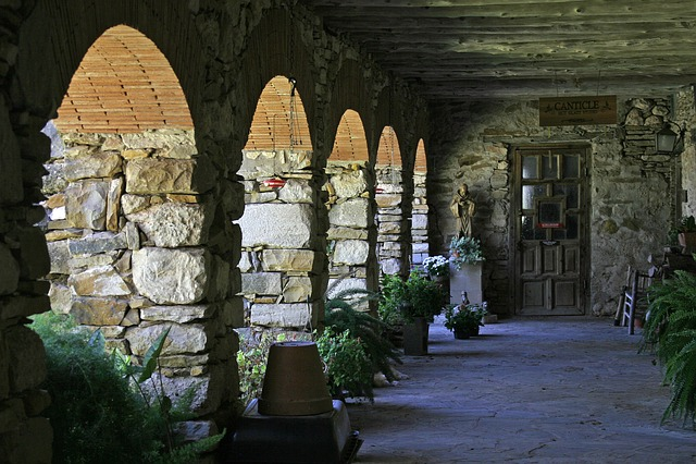 Mission, Stone, Flowers, Spanish, Historic, San