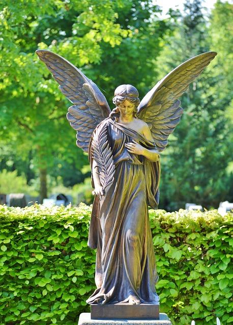 Statue, Figure, Angel, Sculpture, Stone Figure, Stone