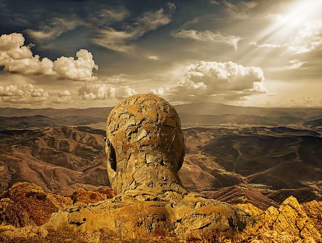 Stone Man, Stone, Stone Head, Fantasy, Fantasy Design