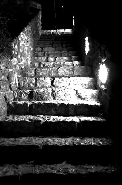 Stair, Middle Ages, Tihany, Stone