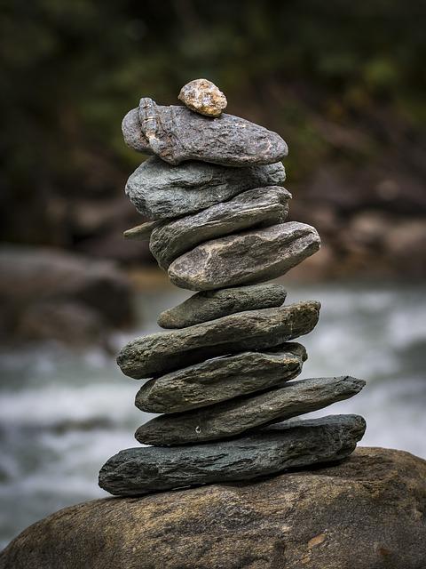 Stone Tower, Balance, Meditation, Stones, Relaxation