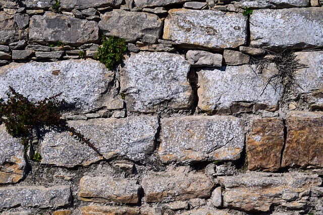 Stone Wall, Texture, Structure, Stones, Wall
