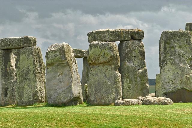 Stonehenge, Megalith, Ancient, Prehistory, Unesco