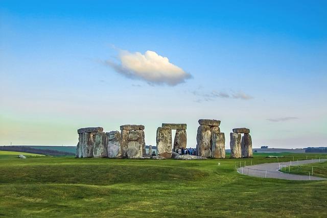 Stonehenge, Monument, Stones, England