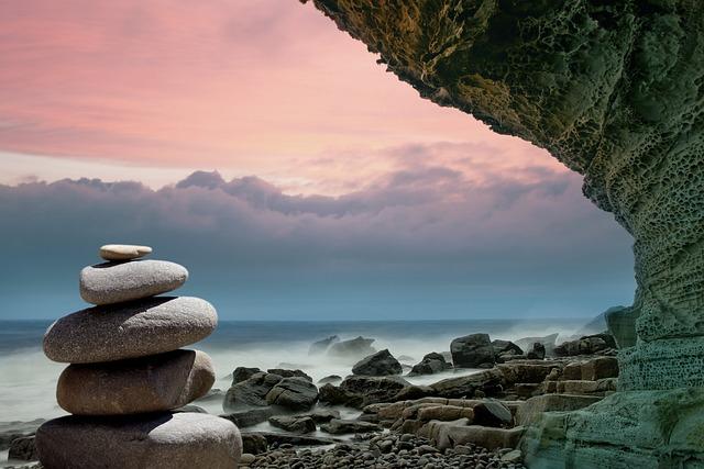 Feng Shui, Stones, Coast, Spirituality, Meditation, Zen