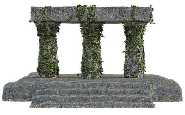 Ruins, Stones, Ivy, Architecture, Old, Decadence