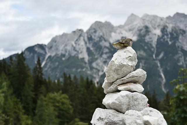 Stone, Zen, Mountains, Slovenia, Julian Alps, Stones
