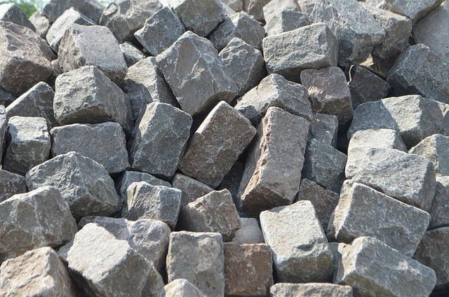 Paving Stones, Stones, Boulder, Hard, Grey