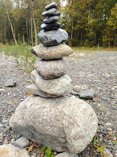 Stone On Stone, Steinmann, Layer, Art, Nature, Stones