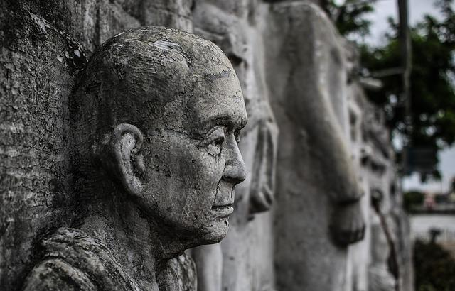 Stone, Face, Head, Sculpture, Art, Fig, Stony